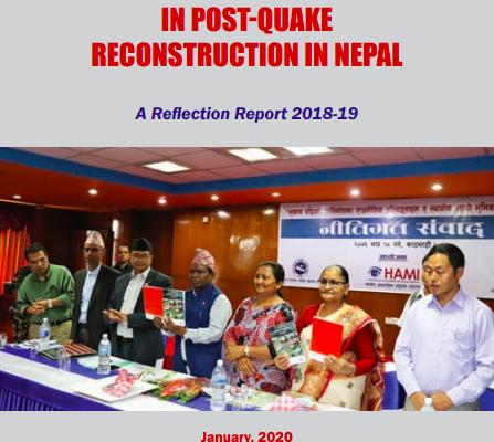 HAMI Reflection on Social Rebuilding 2018-19